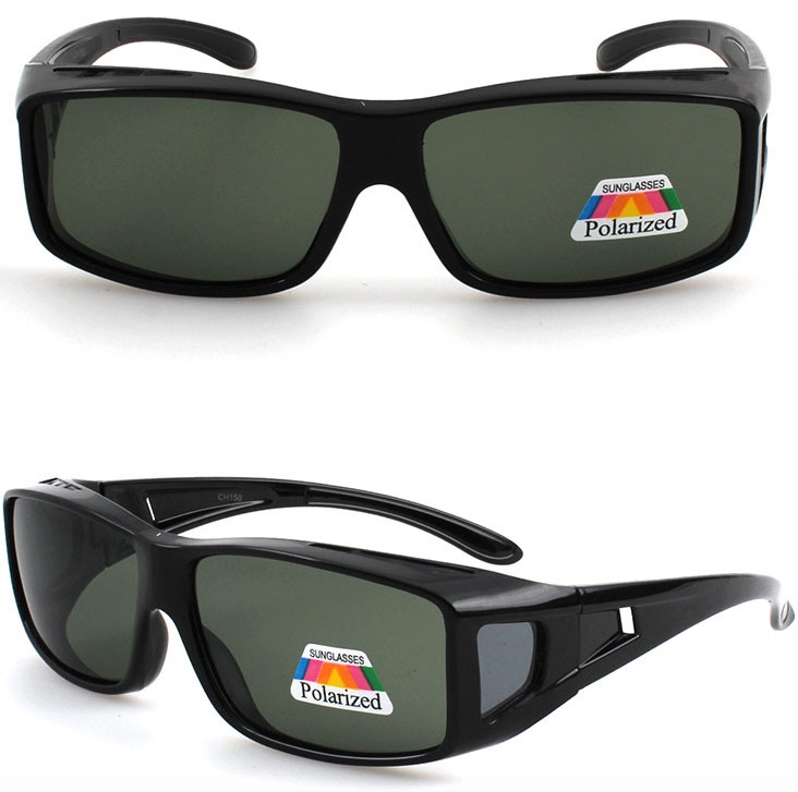 fitting over sunglasses that cover prescription glasses